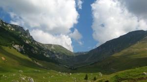 Cu bicicleta prin muntii Bucegi